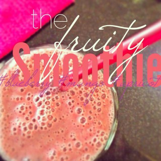 Fruity Smoothie [dairyfree]
