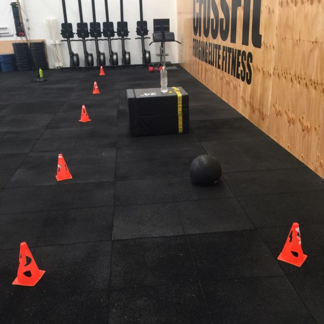 My Special Workout Spot crossfitfurnace My lovely trainer set mehellip