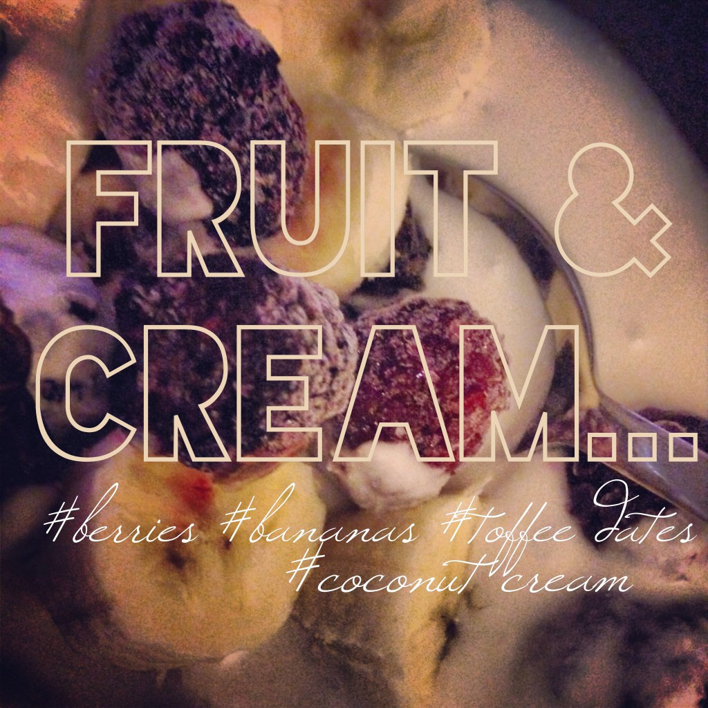 Fruit&Cream Whole 30