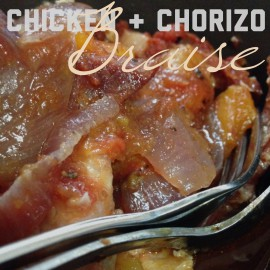 Chicken Chorizo Braise Whole 30