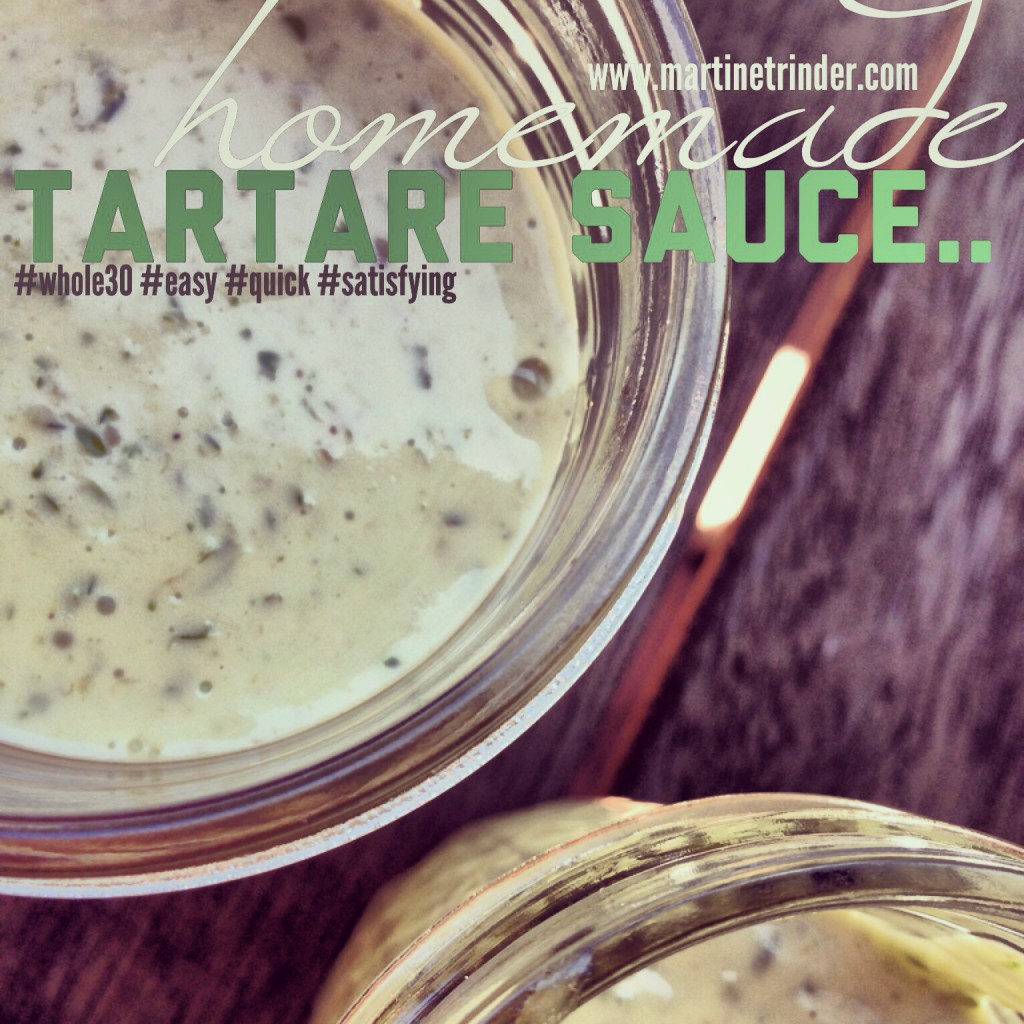 Tartare Sauce Whole30