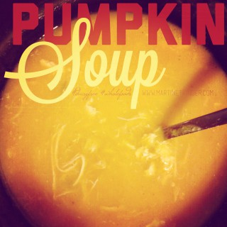 pumpkin soup df