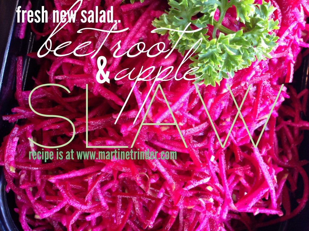 Apple & Beetroot Slaw [paleo]