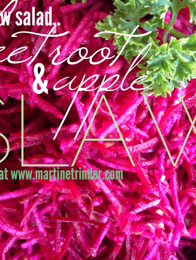 Apple & Beetroot Slaw