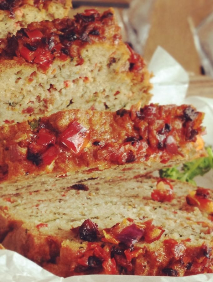 Savoury Paleo Bread Loaf
