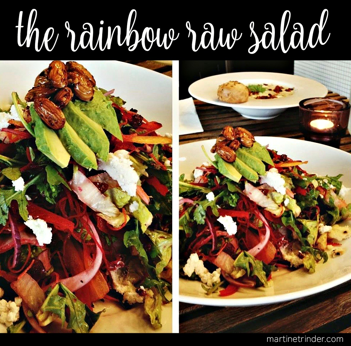 Rainbow Raw Salad